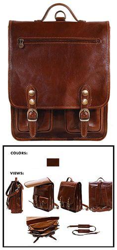 Venezia Leather Backpack