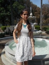 Taupe/Ivory Lace Dress $39.00