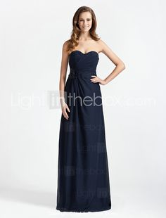 CHARNWOOD - Vestido de Madrinha em Chifon - BRL R$ 178,45
