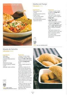Revista bimby pt-s01-0004 - setembro 2008 Meat Recipes, Gluten Free Recipes, Recipies, Kitchen Reviews, Multicooker, Portuguese Recipes, What To Cook, Appetizers For Party, Dairy Free