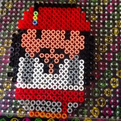 Jack Sparrow perler beads by Suzanne