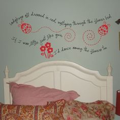 going in my daughter's room one day ;)
