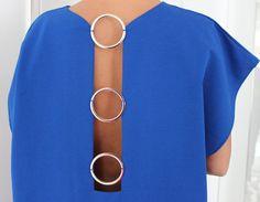Royal Blue backless elegant Open Back maxi party dress/Spring Summer dress/prom dress/Backless dress