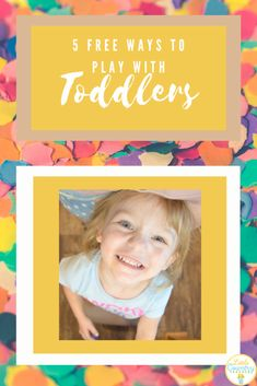 Your toddler is begging you to play with them at home, this post will help you find playing with toddlers at home ideas.