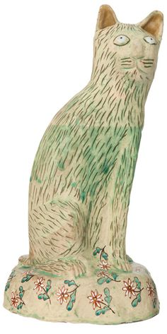 green - cat - Hylton Nel