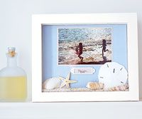 Need some inspiration for our family beach vacation shadow box I was supposed to make for my mil forever ago!