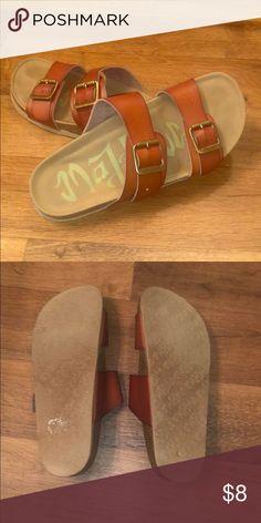 90cf479b1a8 Target Brand Tan Birkenstocks  Target Brand  Tan Birkenstocks - adjustable  straps Birkenstock Shoes Sandals