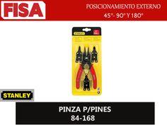 PINZA P/PINES 84-168. Posicionamiento externo 45*, 90* y 180*- FERRETERIA INDUSTRIAL -FISA S.A.S Carrera 25 # 17 - 64 Teléfono: 201 05 55 www.fisa.com.co/ Twitter:@FISA_Colombia Facebook: Ferreteria Industrial FISA Colombia