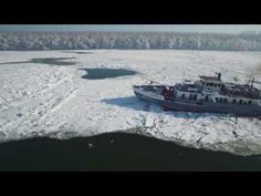 Wesselényi ex-Jégtörő XI. m/s Hungarian icebreaker ship Icebreaker, Ships, Waves, Boat, Youtube, Outdoor, Musica, Outdoors, Boats
