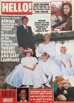 HELLO magazine n. 104 - May 1990. Princess Beatrice