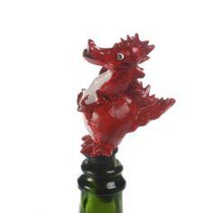 Red Dragon Bottle Stopper Pink Bottle, Cool Gifts For Women, Red Dragon, Bottle Stoppers, Fun, Hilarious