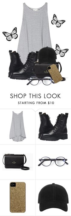 """Untitled"" by kimchixcats ❤ liked on Polyvore featuring Soft Joie, Frye, Kate Spade, L.G.R, Case-Mate and rag & bone"