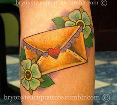 love letter tattoo | Tumblr