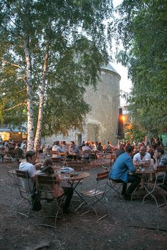 "Cassiopeia, Friedrichshain, Berlin. I never actually ate or drank there but I frequently rock climbed at that ""gym"""