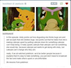 I LOVE CATERPIE IT IS ADORABLE