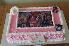 """Formidable Gateau Monster High par """"Créations Vivi La Vie"""""""