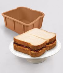 baking pan for making sponge cake-wiches