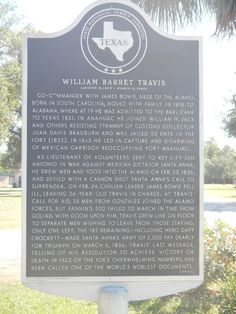 William B Travis Historical Marker, Fort Anahuac Park Waltz Across Texas, Road Trip Activities, Only In Texas, Republic Of Texas, Texas Things, Family Vacation Spots, Texas Forever, Loving Texas, Lone Star State