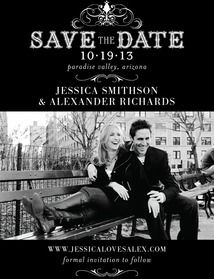 Save the dates----Wedding Invitations, Bridal Shower Invitations & Announcements by Wedding Paper Divas