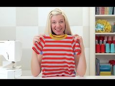 (6) How to sew a T-shirt, for kids and adults - YouTube