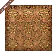 Tan Resin Trinida Tile Plaque from Kirkland's