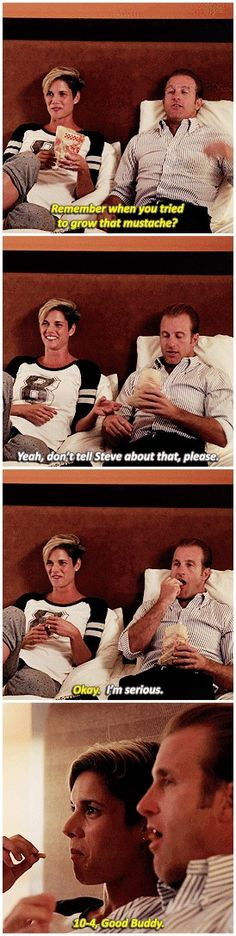 #hawaii five 0 #missy peregrym #scott caan #these two were amaaaaazing together #bridget needs to stay forever #h50: 7.10