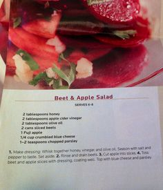 ... apple and orange salad beet apple and orange salad beet salad from