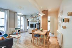 Rénovation et décoration d'un appartement de 53m2 à Paris 9e, Paris, blackStones - architecte d'intérieur