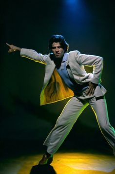 "John Travolta en ""Fiebre del Sábado Noche"" (Saturday Night Fever), 1977"