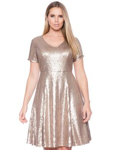Allegra k long sleeve dress 7755