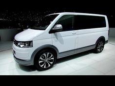 All-new Volkswagen VW Transporter Multivan T6 FULL REVIEW test driven 2016 passenger & commercial - YouTube