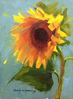 Sun Drenched by Sandy Browning Oil ~ 10 x 8