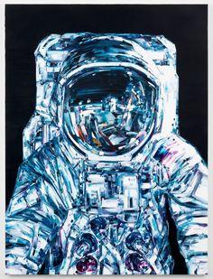 Des peintures de l'aventure spatiale - La boite verte
