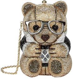 small cristal bags by Judith Leiber # Embellished Purses, Beaded Purses, Beaded Bags, Unique Handbags, Unique Purses, Unique Bags, Look Fashion, Fashion Bags, Oversized Handbags