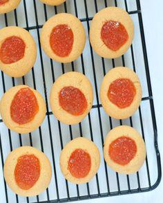Vegan Apricot Rosemary Jewels