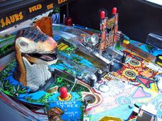Buy Jurassic Park Pinball Machine online for $4999 from The Pinball Company, visit our website for more information.