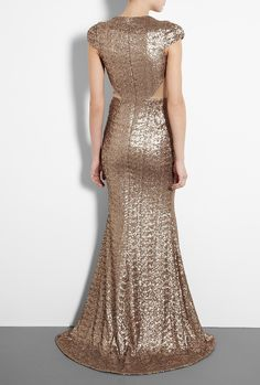 Aphrodite Sequin Gown by Project D By Dannii And Tabitha