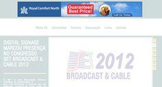 Banner digital desenvolvido para a empresa Royal Comfort North, companhia distribuidora de aparelhos de ar condicionado.