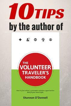 10 Tips for Volunteer Solo Travel http://solotravelerblog.com/volunteer-solo-travel-10-tips/