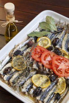 Rosemary Lemon Roasted Sardines