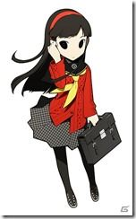 View an image titled 'Yukiko Amagi Art' in our Persona Q: Shadow of the Labyrinth art gallery featuring official character designs, concept art, and promo pictures. Game Character Design, Character Design References, Character Art, Persona Q, Shin Megami Tensei Persona, Game Concept Art, Manga Pictures, Cartoon Characters, Chibi