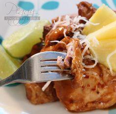 Hawaiian BBQ Chicken {Electric Pressure Cooker Recipe}