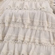 New Year's new all-polyester mesh yarn crumpled cake skirt cloth Japan – fabric shoping Korean Fashion Dress, Fashion Dresses, Mesh Fabric, Korean Style, Fabric Material, Home Textile, Lace Shorts, Print Patterns, Textiles