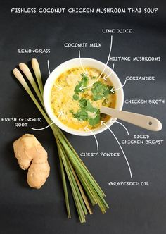 coconut-fishless-thai-soup-ingredients-Mademoiselle-Bagatelles