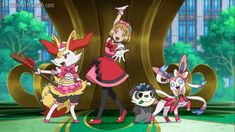Pokemon Kalos, Old Pokemon, Pokemon X And Y, Pokemon People, Pokemon Ships, Cute Pokemon, Pokemon Photo, Pokemon Ash And Serena, Anime Screenshots