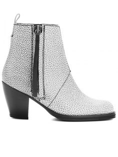 Kicking It: Shop Fall 2012's Top Trends in Boots - Lighten Up - Acne