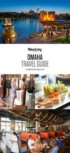 Nebraska's largest city blends a famous zoo, top-notch museums and world-class dining into a lively downtown on the Missouri River. See our recommendations for what to do, where to eat and where to stay in Omaha.