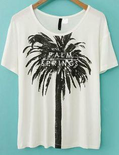 Palm Springs & Palm Trees T-Shirt
