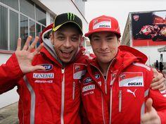 """MotoGP, Nicky Hayden: """"Valentino Rossi, l'unico compagno di ..."""