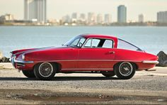 1955 Alfa Romeo 1900C SS Coupe Speciale Highly Original Example One-off Coachwork by Boano